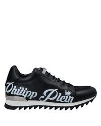 Philipp Plein Black Low-tops & Sneakers for men