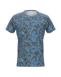 T-shirt di Majestic Filatures in Blue da Uomo