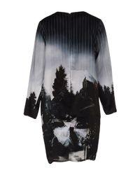 Leo Black Short Dress