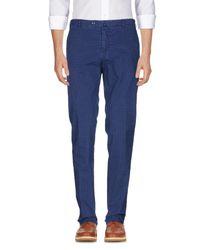 L.b.m. 1911 Blue Casual Pants for men