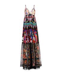 Robe longue Roberto Cavalli en coloris Black