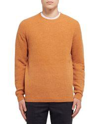 Pullover di Folk in Orange da Uomo