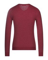 Pullover di Zanone in Red da Uomo