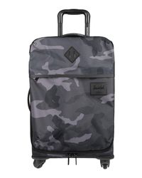 Herschel Supply Co. Gray Wheeled luggage for men