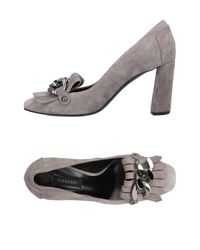 Casadei Gray Loafer