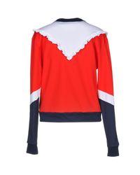 MSGM Red Sweatshirt