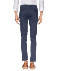 Yan Simmon Blue Casual Pants for men