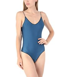 Oseree Blue One-piece Swimsuit
