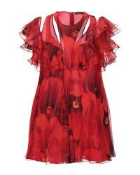 Alexander McQueen Red Blouse