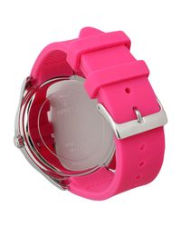Guess - Pink Wrist Watch - Lyst