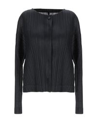 Camicia di Pleats Please Issey Miyake in Black