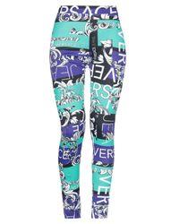 Versace Jeans Blue Leggings