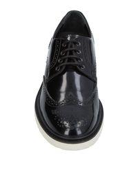 Hogan Black Lace-up Shoe for men
