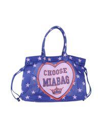 Mia Bag Blue Handbag