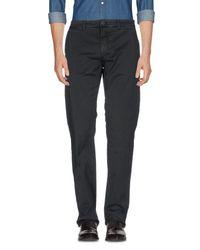 Hamptons Gray Casual Pants for men
