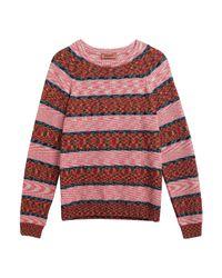 Pullover di Missoni in Pink da Uomo