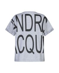 T-shirt Alessandro Dell'acqua en coloris Gray