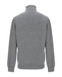 Cuello alto Ballantyne de hombre de color Gray