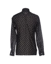 Lanvin Black Shirt for men
