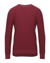 Tagliatore Red Jumper for men