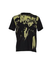 Versus  Black T-shirt for men