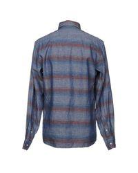 Franklin & Marshall Blue Shirt for men