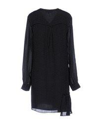Tibi Black Short Dress