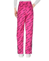 Opening Ceremony Pink Casual Trouser