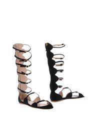 Giambattista Valli Black Sandals