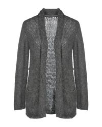 P.A.R.O.S.H. Gray Strickjacke