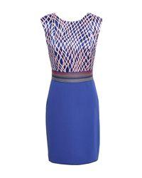 Vestito corto di Missoni in Blue