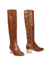 Elisabetta Franchi Brown Boots