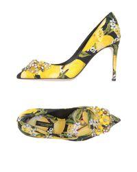 Dolce & Gabbana | Black Court | Lyst
