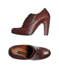 The Seller Brown Lace-up Shoe