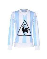 Le Coq Sportif White Sweatshirt for men