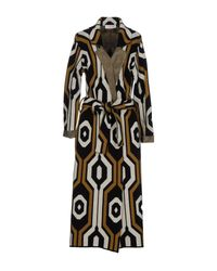 Jucca - Black Overcoat - Lyst