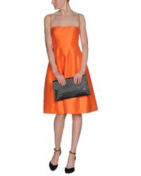 DSquared² Orange Knee-length Dress