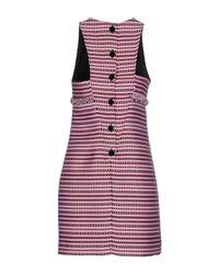 Matthew Williamson | Purple Short Dress | Lyst