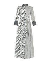Maria Grazia Severi White Long Dress