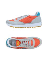 2 Star Orange Low-tops & Sneakers for men