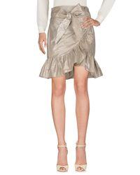 Isabel Marant Gray Knee Length Skirt