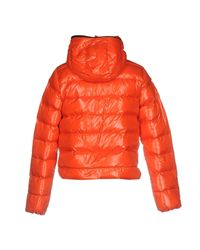 Duvetica Orange Down Jacket for men