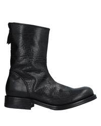Premiata Black Zipped Boots for men