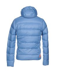 Rrd Blue Down Jacket for men