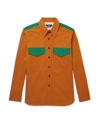 Camicia di CALVIN KLEIN 205W39NYC in Orange da Uomo