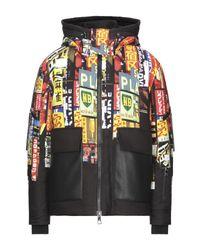 Neil Barrett Multicolor Synthetic Down Jacket for men