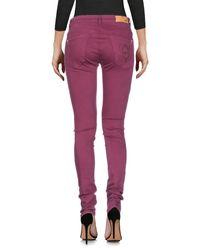 Pantalon en jean Patrizia Pepe en coloris Purple