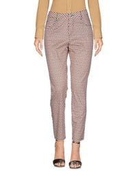MAX&Co. White Casual Trouser