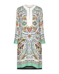 Robe courte Etro en coloris White
