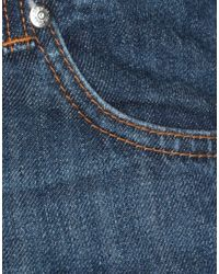 Pantaloni jeans di MSGM in Blue